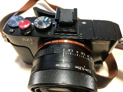 Appareil photo Reflex Sony RX1 R II .