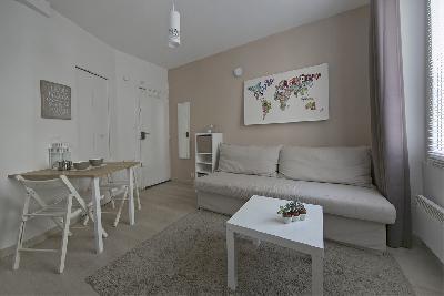 Lyon - Studio rénové 1 pièce 20m² Gare Part-Dieu