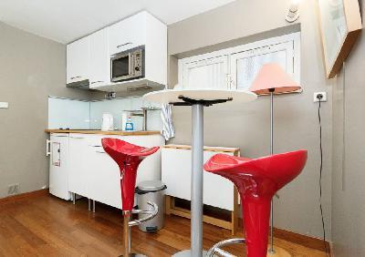 Studio F1 30m² meublé tout confort situé au 2ème