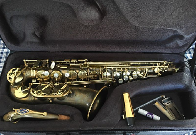 Saxophone Selmer super Action 80 série 2 patiné