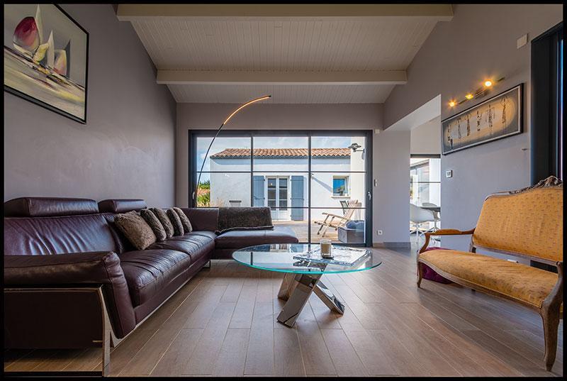 Maison de plain-pied, 4 chambres, de style rétais