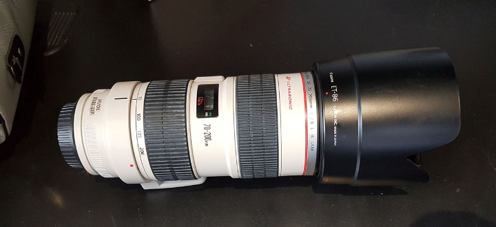 Objectif Sony EF 70-200mm 2.8L IS USM comme neuf